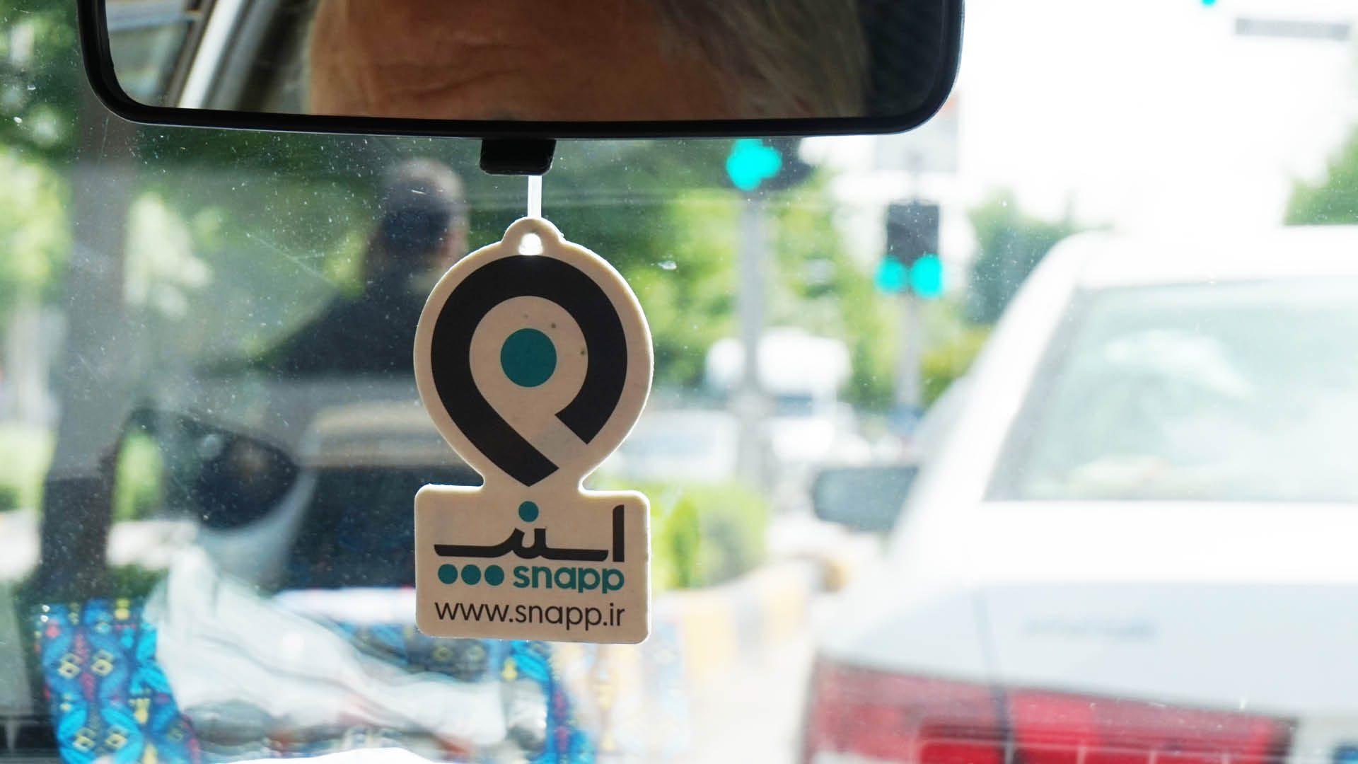 snapp iran uber app