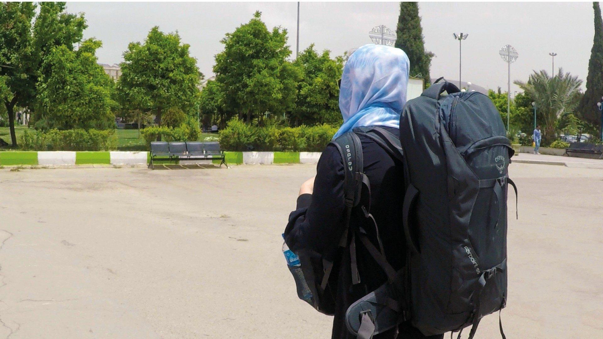 backpacken in iran solo